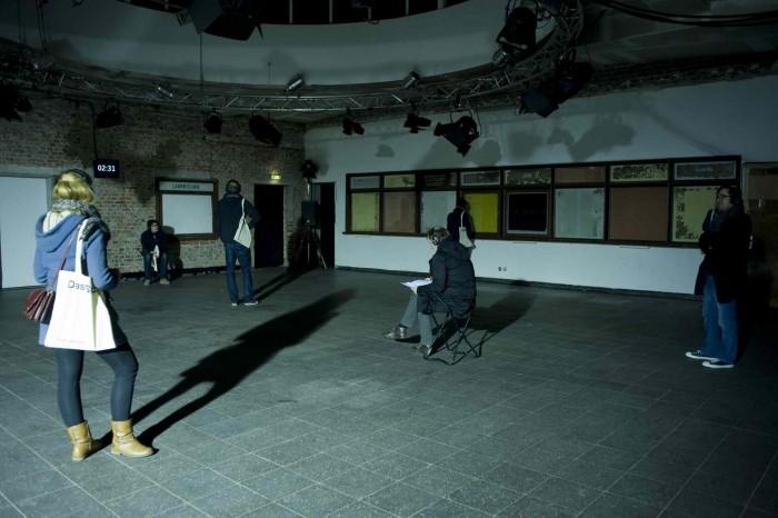 Das Stueck (Intervention) von HerbordtMohren, www.die-institution.org © Elisa Roessler